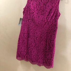 3bb001b43a eva mendes for New York   Company Dresses - Gorgeous Pink Lace Eva Mendes  Dress Size